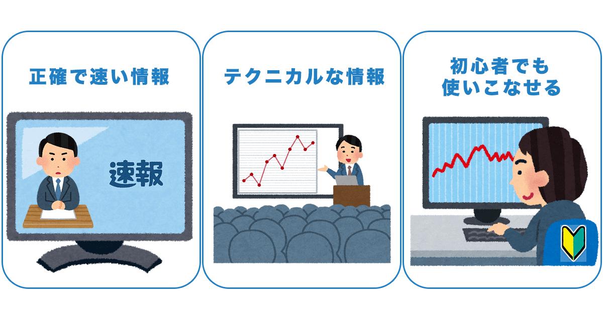 FX会社情報収集力・ニュースコンテンツ比較の3つのポイント
