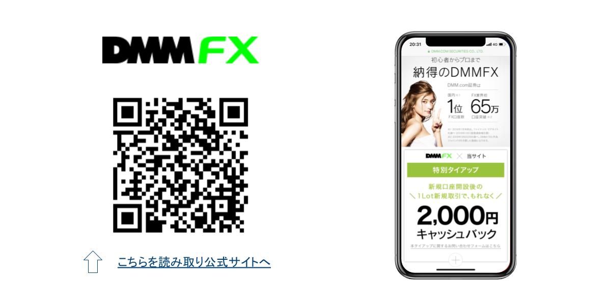 DMMFXQRコード画像