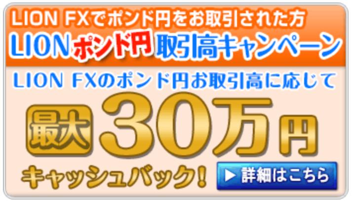 ヒロセ通商キャッシュバックキャンペーンポンド円