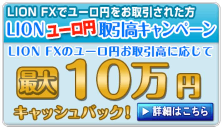 ヒロセ通商キャッシュバックキャンペーンユーロ円