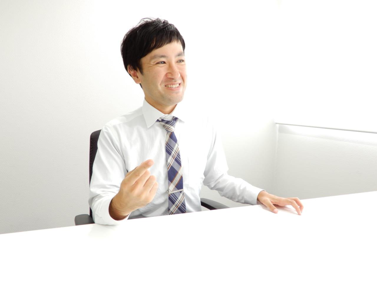 ヒロセ通商東野さん話す様子5
