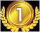 FX約定力比較ランキング1位のメダル