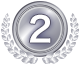 FX約定力比較ランキング2位のメダル