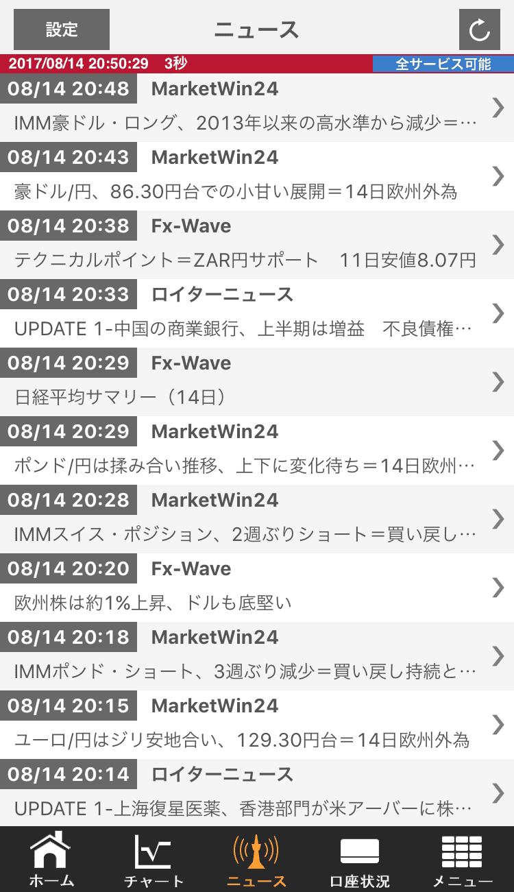 外為オンラインSPアプリPCiphone4
